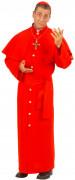 Rød biskop-kostume voksen