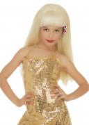 Glamourøs Blond Paryk Pige
