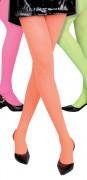 Neonfarvede strømpebukser Voksen