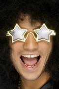 Gyldne Stjernebriller Voksen