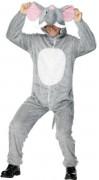 Elefant-kostume voksen