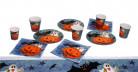 Bordsæt græskar Halloween