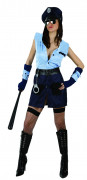 Politi - udklædning kvinde