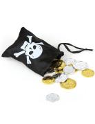 Piratskat med lille taske