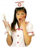 Enorm termometer sygeplejerske