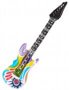 Guitar rock flerfarvet oppustelig