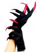 Heksehandsker med falske negle Halloween