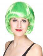 Paryk kort hår grøn