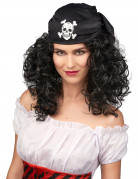 Paryk Krøllet Pirat Kvinde