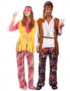 Klassisk hippie parkostume til voksne