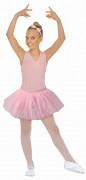 Lyserød ballerinanederdel til piger