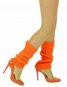 Benvarmere i orange til dame