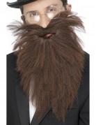 Brunt langt skæg til voksne