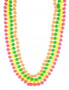 Perlehalskæde neonfarvet voksen