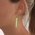 Pakke med fem par selvlysende øreringe