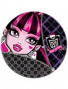 Pakke med 8 tallerkener Monster High™ Halloween!