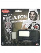 Halloween skelet sminkesæt