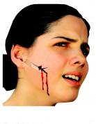 Falsk sår med barberblad