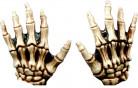 Handsker skelethænder Voksen Halloween