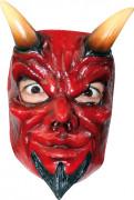 Latex maske dæmon til voksne