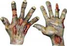 Brændte hænder Voksen Halloween