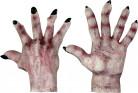 Monsterhænder med sorte negle Voksen Halloween
