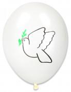 Balloner 10 stk. fredsdue