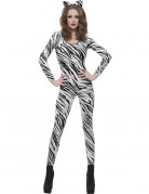 Kostume zebra voksen
