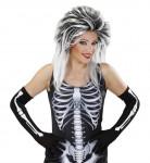 Lange skelethandsker voksne