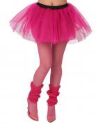 Neonlyserød ballerinanederdel dame