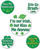 Humorbadge Saint Patrick