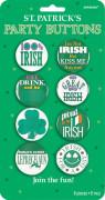 Irlandsk humorbadge Saint Patrick