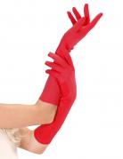 Handsker lange røde