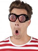 Briller med spiraler