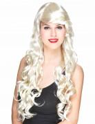 Paryk glamourøs med blonde lokker