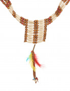 Indianerhalskæde med perler
