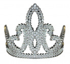 Sølv prinsesse diadem