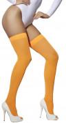 Strømpebukser orange til kvinder
