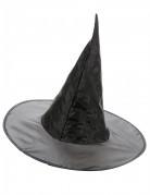 Sort Heksehat 38 cm Halloween