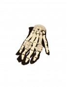 lysende skelethandsker Halloween voksen