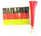 Fodboldtrompet med det tyske flag