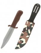 Camouflage plasticdolk