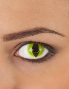 Gule reptil-kontaktlinser til voksne