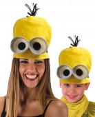 Nuttet gul hat