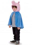 Blå kappe med grisehoved