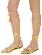 Guld sandaler til voksne