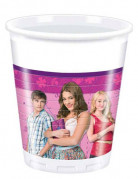 8 plastikkrus Violetta™ 20 cl