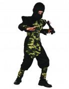Kostume ninja militær til drenge