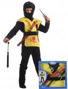Kostumeboks gul ninja