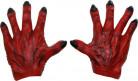 Røde monsterhænder voksen